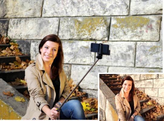 Как фотографировать селфи палкой, чтобы получилось красиво?