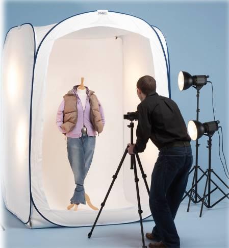 Как фотографировать одежду?