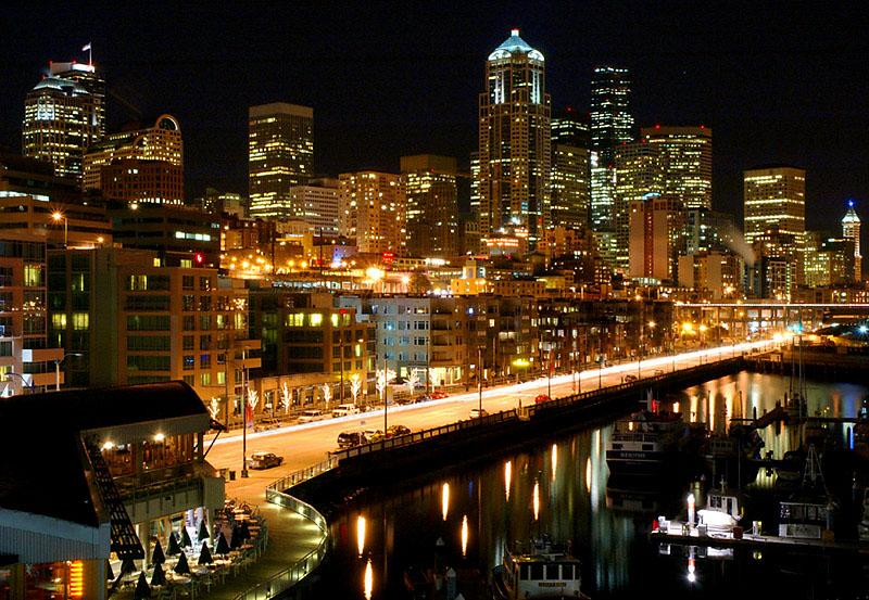 Фотоальбом ночные города