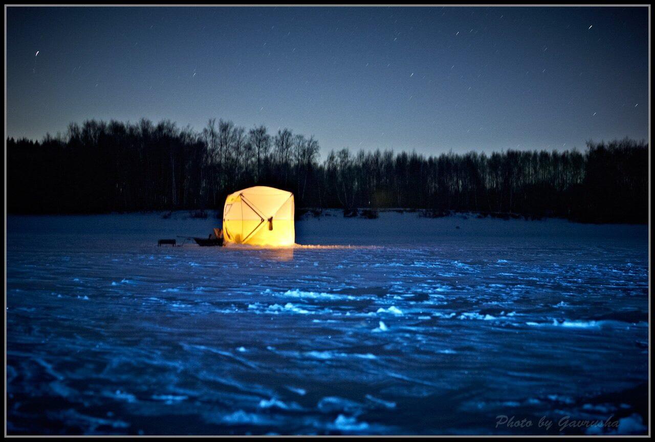 ночная ловля на ладоге