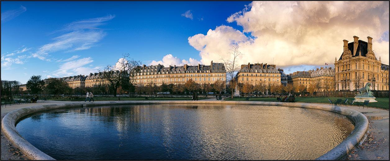 Фотоальбом панорама парижа