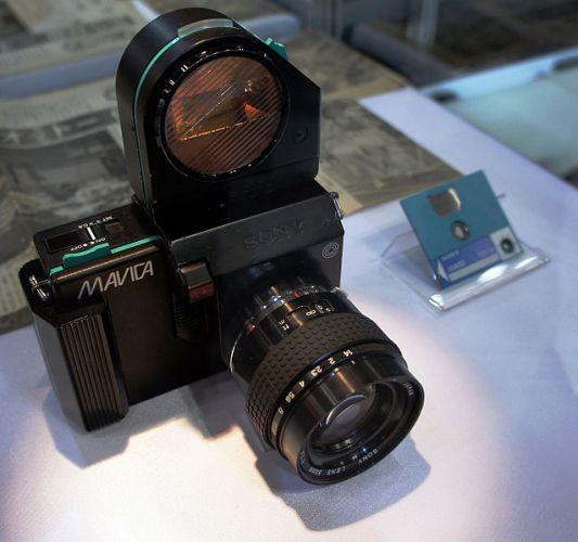 Изобретение цифровой фотографии