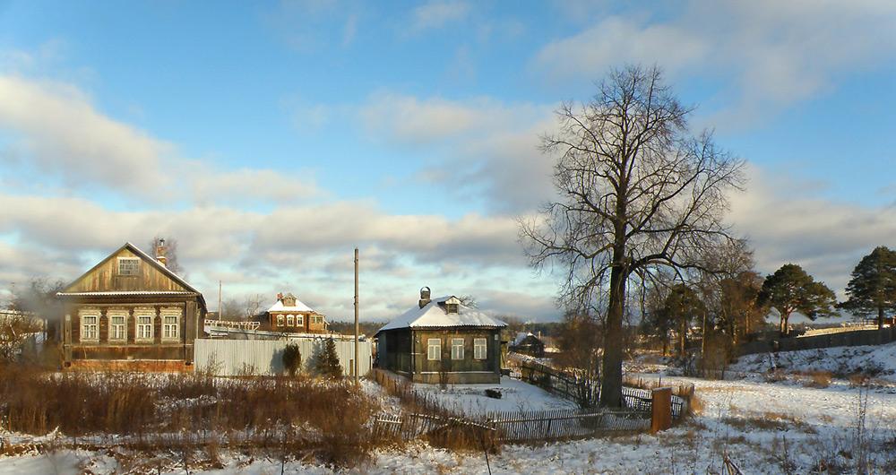 секс зимой в русской деревни