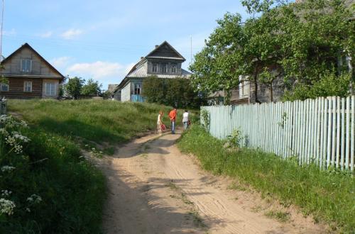 Фотоальбом деревня на селигере