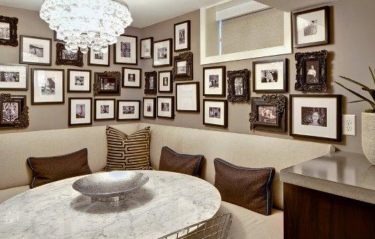 Как украсить квартиру фотографиями?