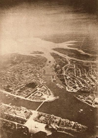 Первая аэрофотосъёмка и история ее развития