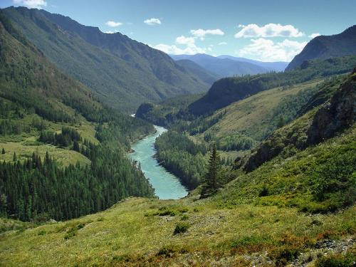 Фотоальбом горный пейзаж алтая