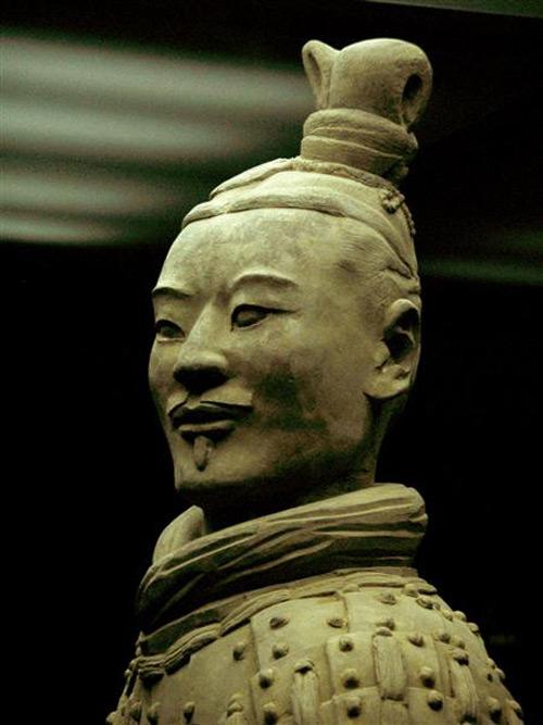 Терракотовая армия статуя офицера