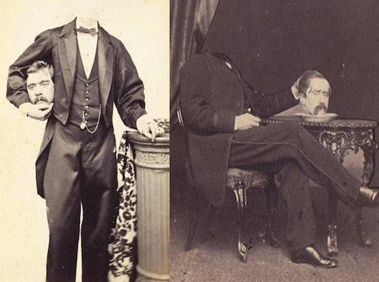 Викторианский безголовый портрет (жанр фотографии безгалового портрета в фотоискусстве)