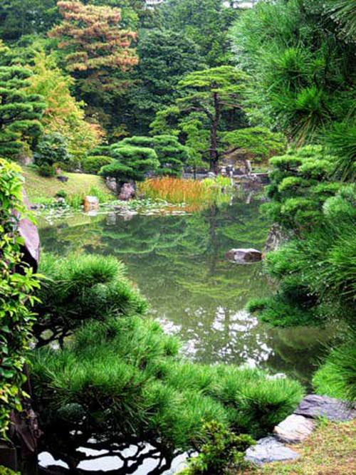 Сад относят к холмистым название сад