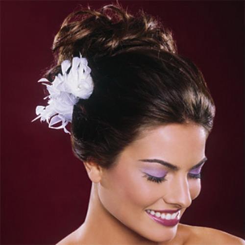 свадебные прически 2011 технология