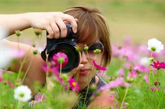 Как фотографировать цветы?