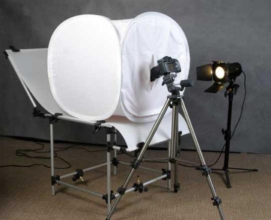 Фотобокс для предметной съёмки и особенности его использования