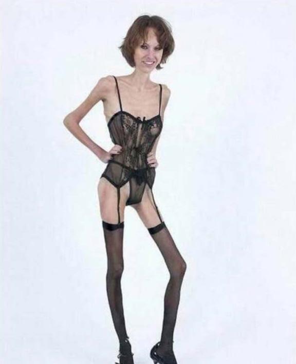 фото самые худые девушки