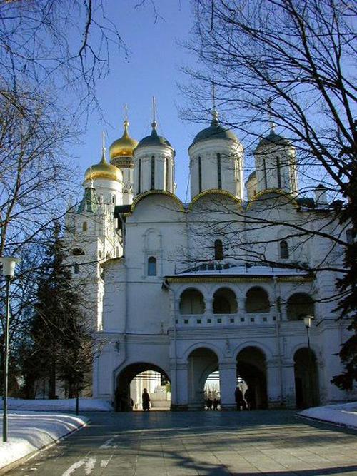 Фотоальбом соборы московского кремля
