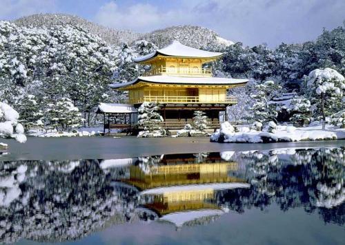 Золотой храм зимой