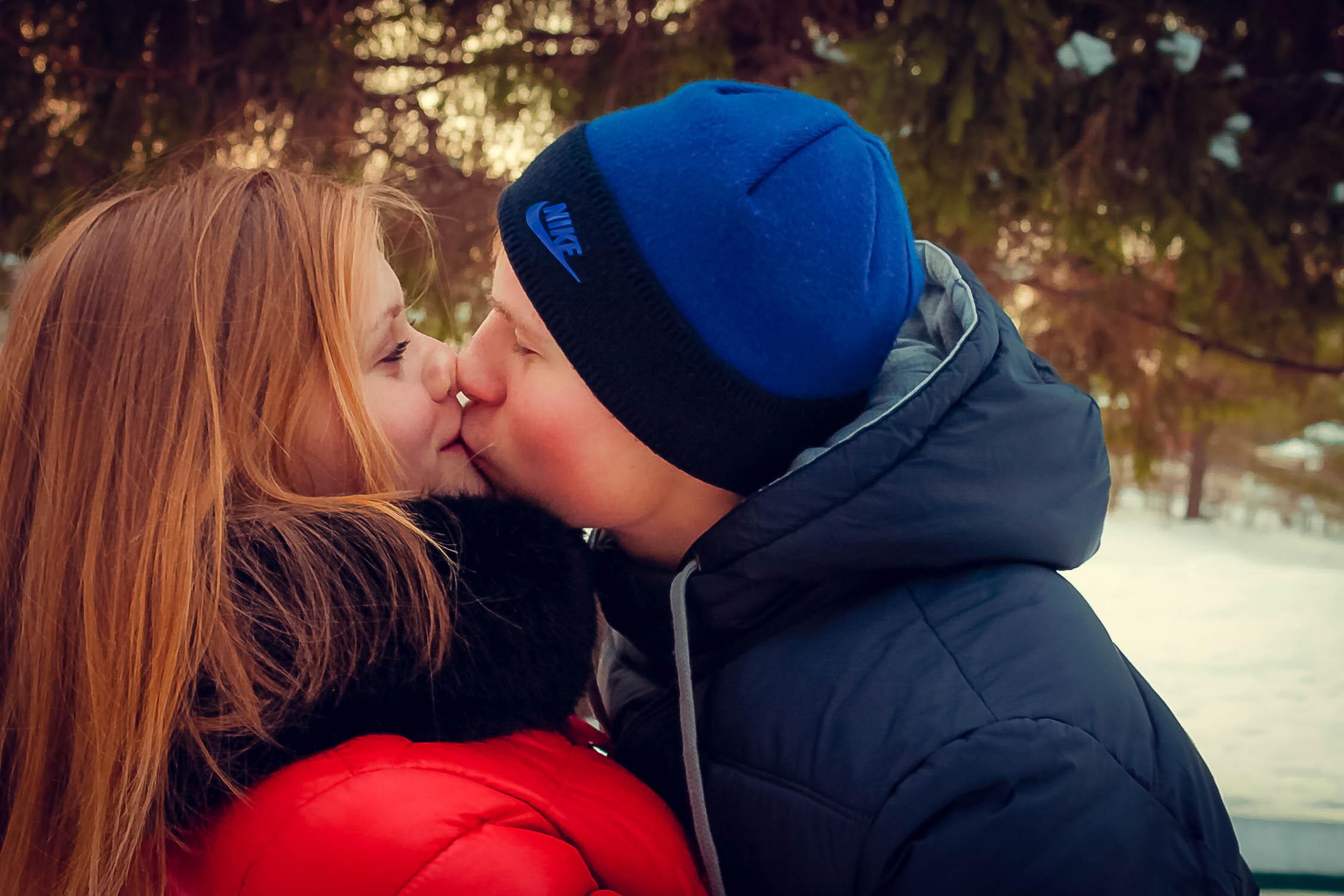 Поцелуи члена с 15 фотография
