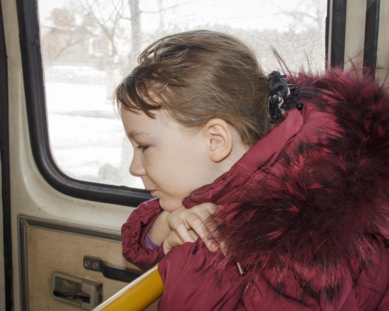 Фото члена в автобусе 12 фотография